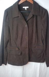 JM Chocolate Casual Blazer Jacket 12